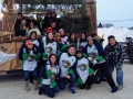 High School Students Trappers 2013 Float
